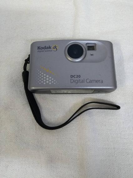Câmera Digital Kodak Dc20 No Estado - Rara