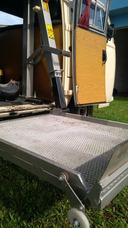 Rampa Elevadora Para Cadeirantes - Marksell Cap. 150kg Hidr.