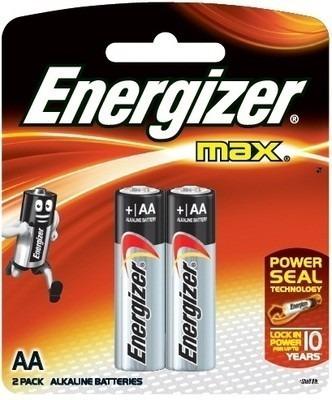Pilas Baterias Alkalina Aa Energizer 3 Blister De 2 Pilas