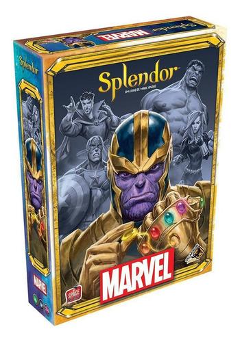 Splendor Marvel Board Game Tabuleiro Lacrado Galápagos Jogos