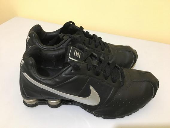 Tênis Nike Shox Classic 2 - Preto Couro 41br