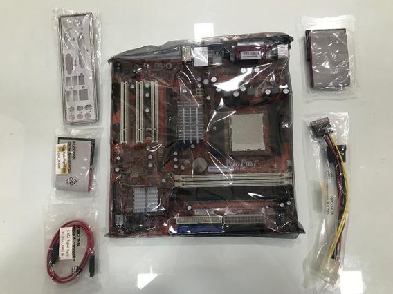 Placa Mãe Winfast Amd Athlon 64 / 64fx, Socket 939 - Nova