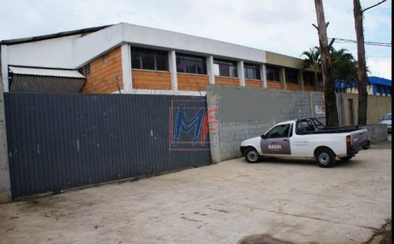 Ref: 10.342 Excelente Galpão Em Terreno De 1209 M² E 892 M² A.c. Pé Direito 8 M² Em Guarulhos Para Locação. Ótima Localização. - 10342