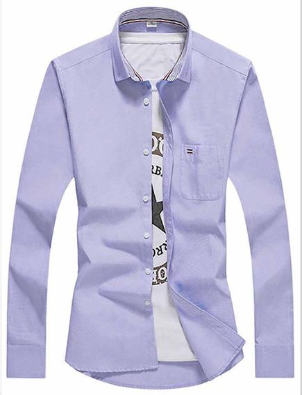 Camisa Social Masculina Blusas Camisetas 491