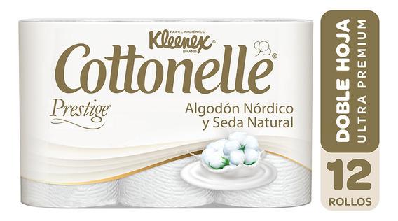 Papel Higienico Doble Hoja Cottonelle 12 Un