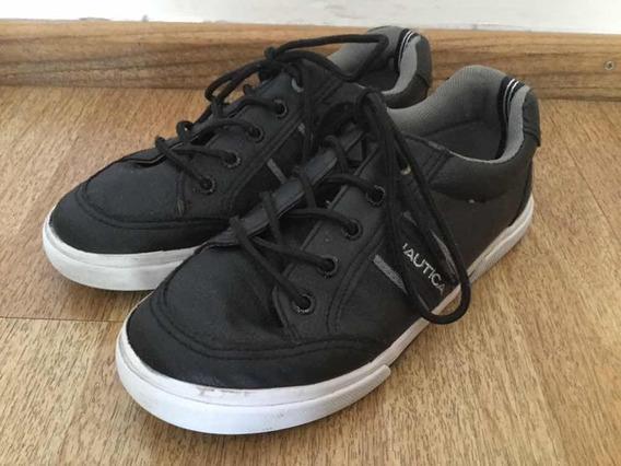 Zapatillas De Cuero Náutica- Talle 2 Usa