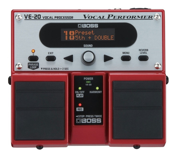 Pedal Boss Proc De Voz Ve 20 Efeitos | Original Boss