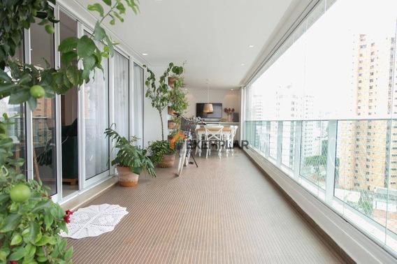 Apartamento Com 3 Dormitórios À Venda, 215 M² Por R$ 2.150.000,00 - Santana - São Paulo/sp - Ap1140