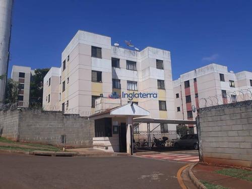 Imagem 1 de 11 de Apartamento, 48 M² - Venda Por R$ 180.000,00 Ou Aluguel Por R$ 750,00/mês - São Pedro - Londrina/pr - Ap1455