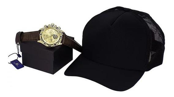 Relógio + Boné