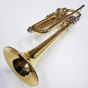 Trompete Yamaha Ytr734 Profissional Original Pompa Inversa