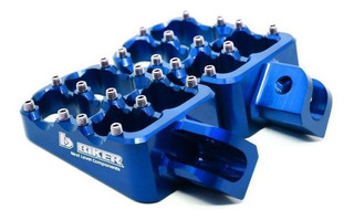 Pedaleira Crf 250x 450x 250r 450r Crf 150r Alumínio Biker