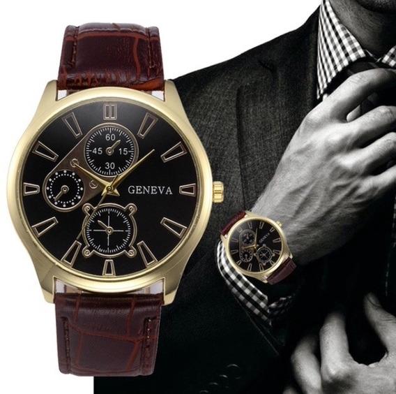 Reloj Para Caballero Analógico Marca Geneva