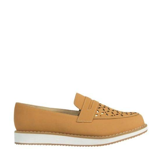 Zapato Confort Shosh 367 Cof 165814 Antiderrapante Piel