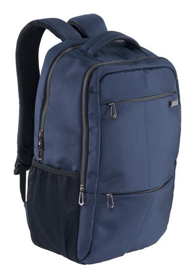 Mochila Ligera Ejecutiva Airpack Azul Para Laptop 15.5
