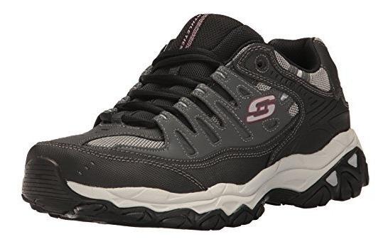 Zapatos sport Skechers negros con memory foam