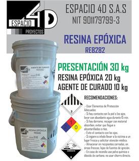 Resina Epoxica Para Murales Y Pisos 3d Porcelanato Liquido