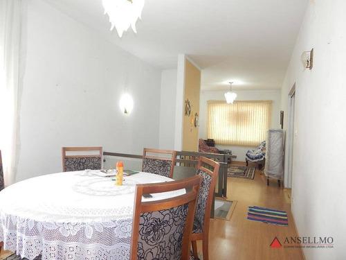 Apartamento Para Alugar, 100 M² Por R$ 2.000,00/mês - Centro - Santo André/sp - Ap2047