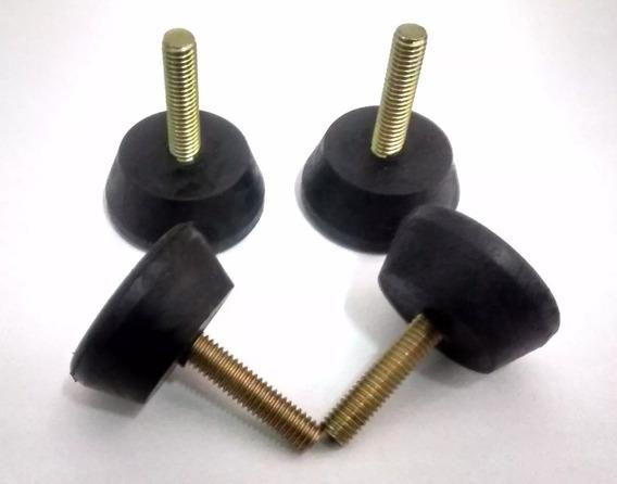 Kit De 4 Pés Niveladores M6 X 30 - Balança Platina Filizola