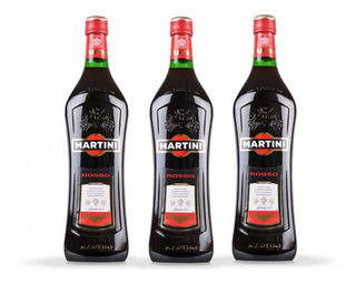 Vermouth Martini Rosso Pack X 3 X 1 Litro - Envíos