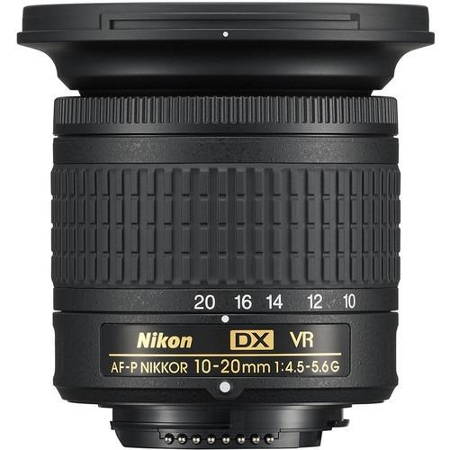Lente Nikon Af-p Dx Nikkor 10-20mm F/4.5-5.6g Vr 12x S/juros