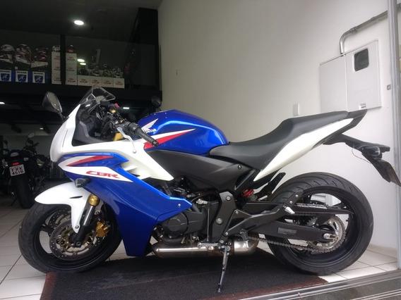 Honda Cbr 600f Azul 2014