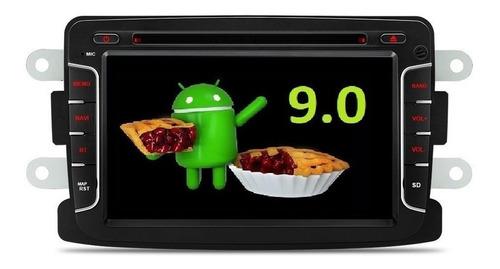 Imagen 1 de 10 de Android 9.0 Renault Duster Dvd Gps Sandero Logan Stepway Hd