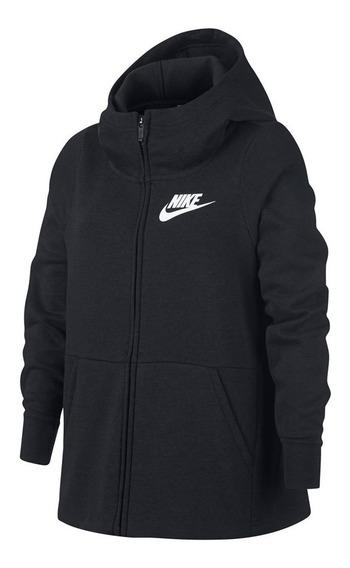Campera Nike Negra Niño