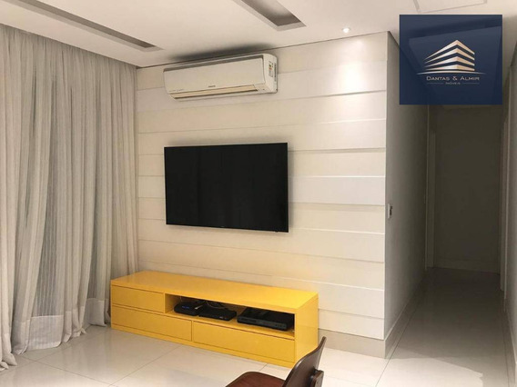 Apartamento Com 3 Dormitórios À Venda, 93 M² Por R$ 749.000 - Centro - Guarulhos/sp - Ap0781