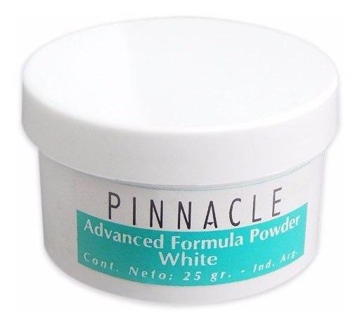 Pinnacle Advanced Formula Powder Blanco Polvo Esculpir Uñas