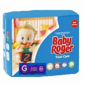 Fralda Baby Roger G Super Jumbo C/80 Total Care