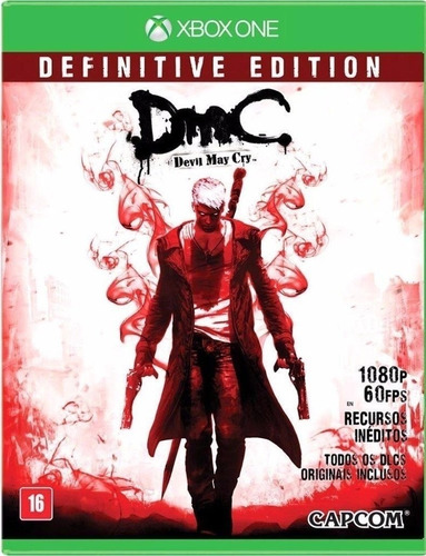 Jogo Dmc Devil May Cry Definitive Edition Xbox One Frete Gts