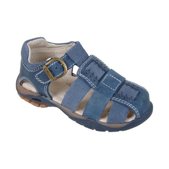 Sandalia Azul Hebilla Boy Colloky