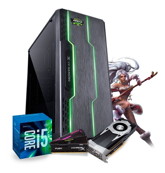 Pc Gamer Intel I5 7400 Gtx 1060 6gb, Ram 8gb Wi-fi