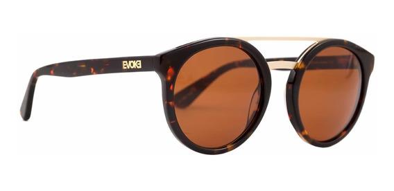 Óculos De Sol Evoke Kosmopolite Ds4 G21 - Havana/marrom