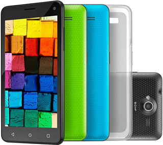 Smartphone Multilaser Colors Ms50, 8 Gb, Câmera 8.0mp, Dual Chip, 3g, Preto - P9030