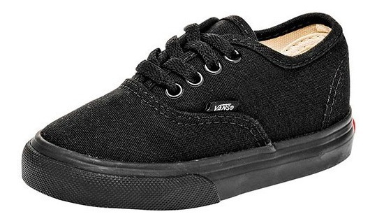 Tenis Vans Td Authentic Negro Tallas De #11 A #15 Bebes