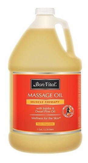 Aceite De Masaje De Bon Vital, Aceite Profesional, Con Ingr