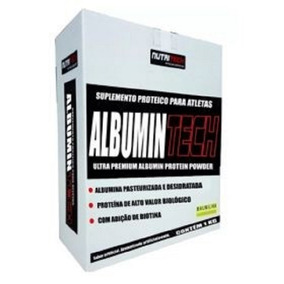 Suplemento Alimentar Albumina Nutritech Com 2 Kg Baunilha