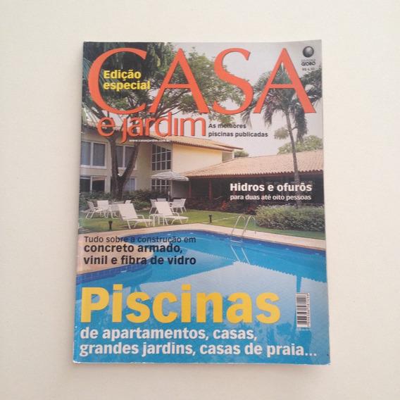 Revista Casa E Jardim Melhores Piscinas Casa Apartamentos C2