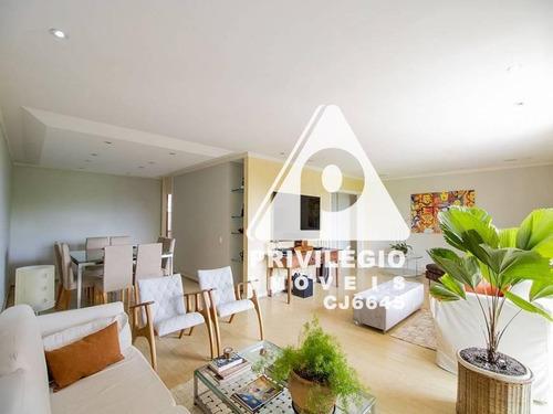 Apartamento À Venda, 4 Quartos, 1 Suíte, 3 Vagas, Flamengo - Rio De Janeiro/rj - 21455