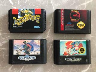 Lote De Jogos Originais E Importados P/ Mega Drive/genesis.