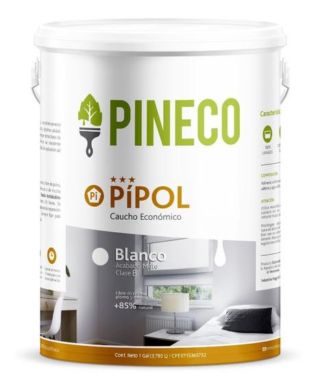 Pintura Blanca - Pineco Pipol Mate Tipo B Económica Galón