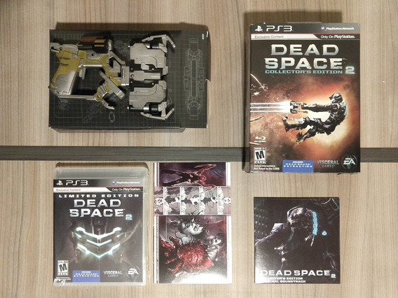 Dead Space 2 - Collector´s Edition - Completo!!! Para Ps3