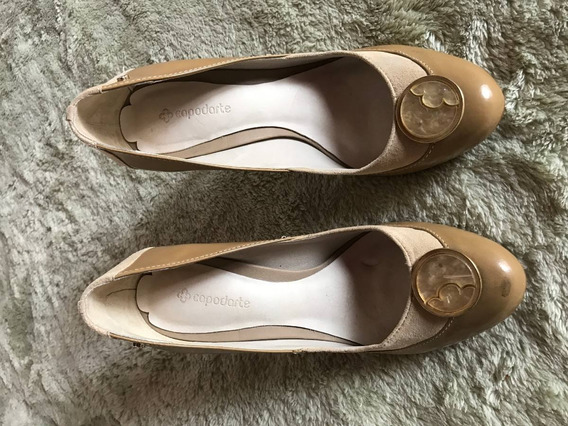 Sapato Scarpin Marrom Capodarte Tam 34