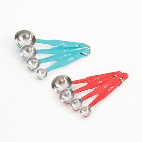 Cucharas Medidoras Colores Surtidos Pw Hogarmesaycocina50 -