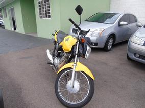 Cg 125 Fan Ks 2014 Amarelo