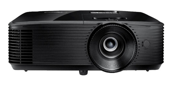 Projetor Hd27e Preto Optoma 3400l Full Hd Pronta Entrega