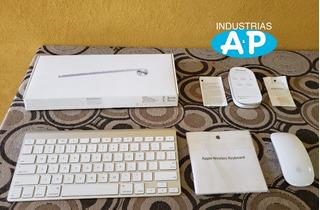 Teclado Apple Wireless Keyboard Ingles + Magic Mouse En Caja