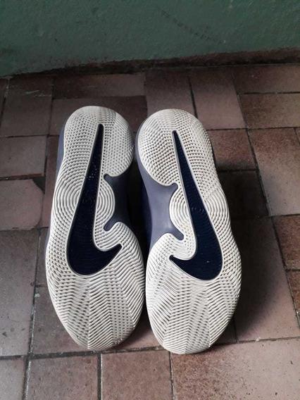 Tenis Nike Air Precision Ii - Marinho E Cinza